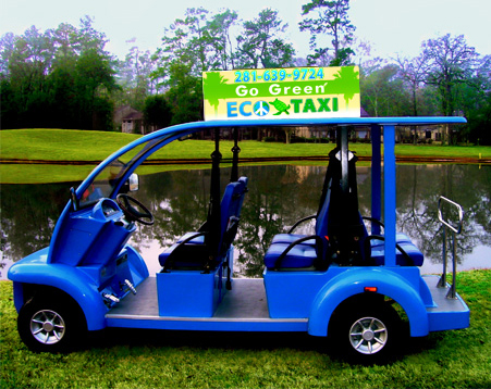 The Blue Eco Taxi
